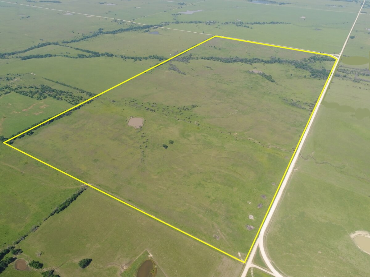 Land Auction * 300+- Acres Greenwood County Kansas Pasture