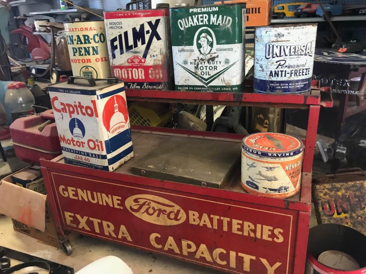 Signs, Oil & Gas Memorabilia, Advertising, Antiques, Toys-Sundgren Auction