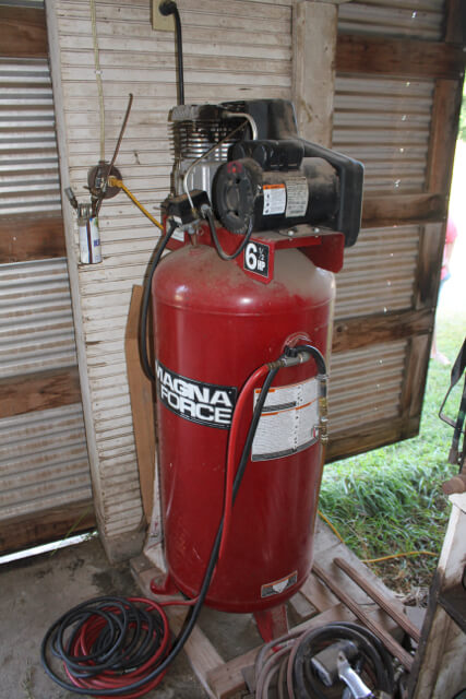magna force 6 5 hp air compressor