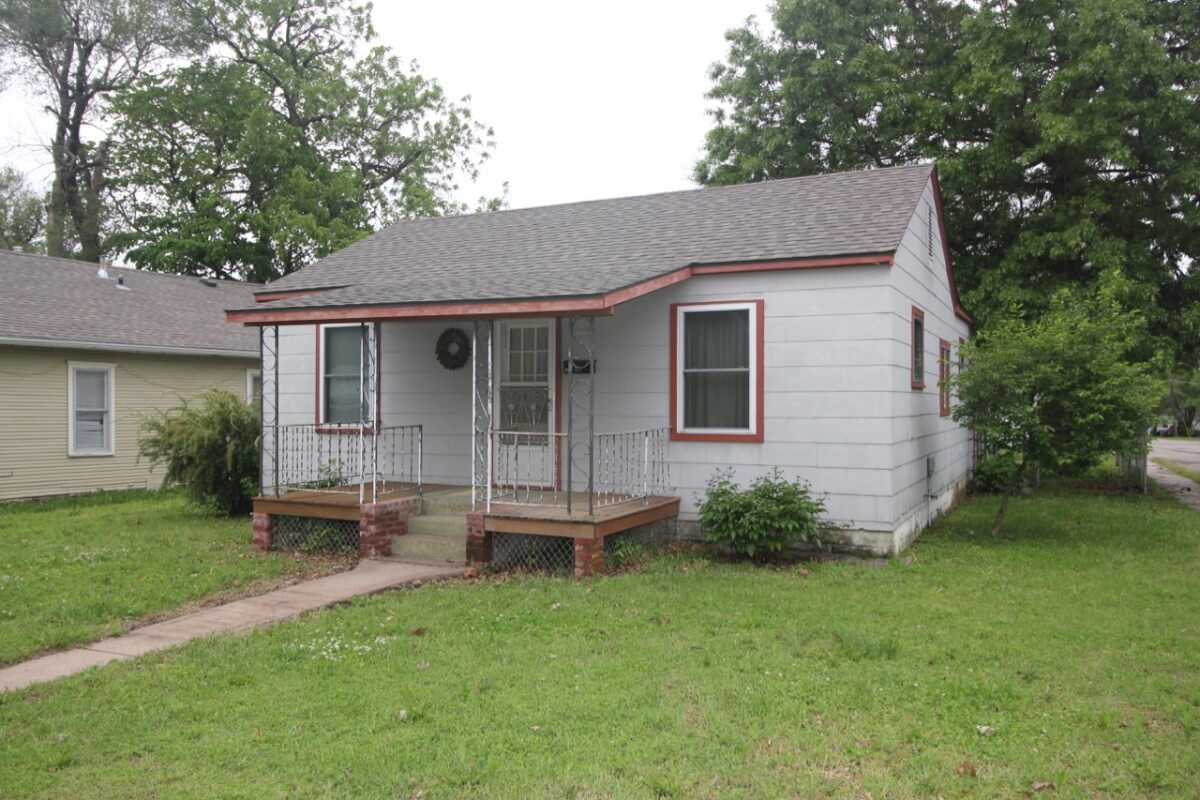 701 S Alleghany, El Dorado KS, 3 Bed 1 Bath Home For Sale By Auction