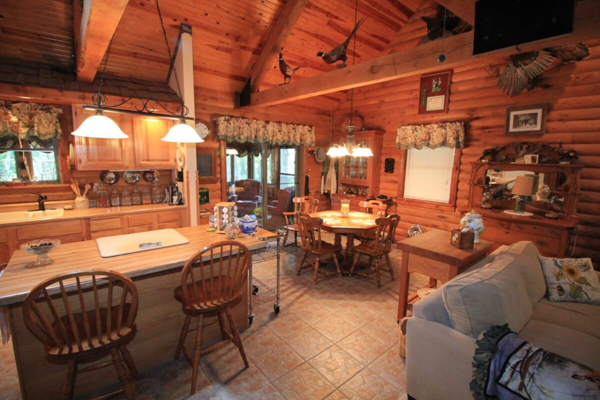 Mortgage Down Payment Calculator >> Greenwood County Kansas Hunting & Recreation Land & Log Cabin For Sale - Sundgren Realty Inc