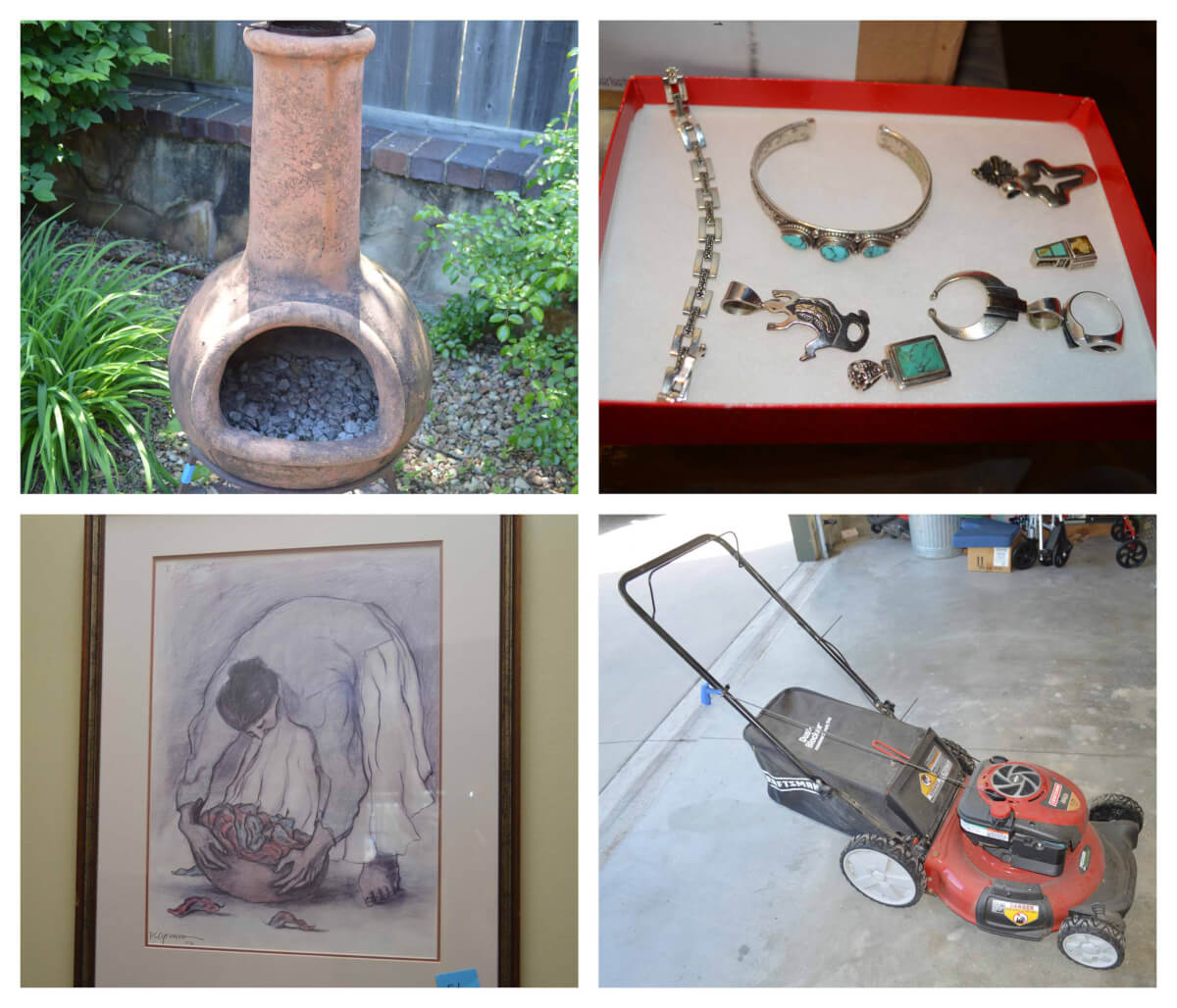 ONLINE ONLY AUCTION: Furniture, Art, Decor, Lawn/Patio Items
