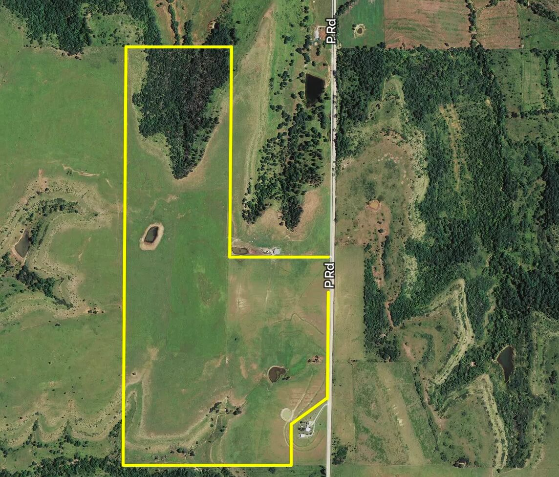 230+- Acres Greenwood County Kansas Pasture Land For Sale; Severy, Piedmont, Eureka