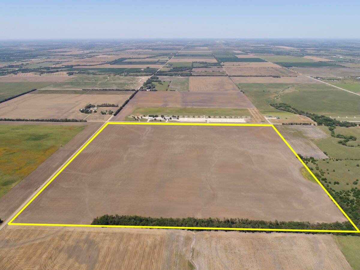 Absolute Land Auction – 160+- Acres Tillable, Sedgwick County Kansas