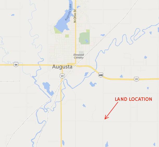 Augusta Kansas Rural Real Estate For Sale 11970 SW