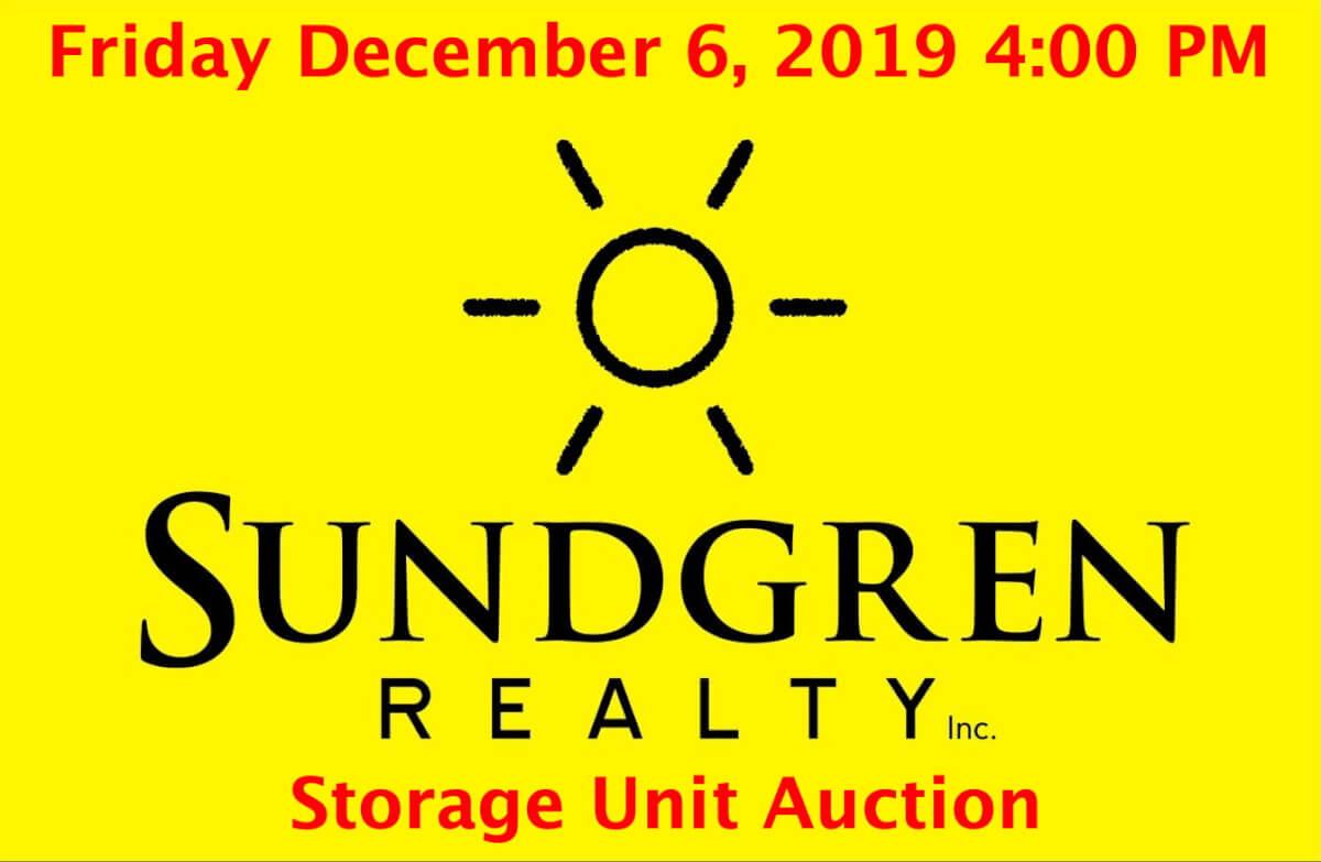 Storage Unit Auction & Personal Property Auction-El Dorado Kansas