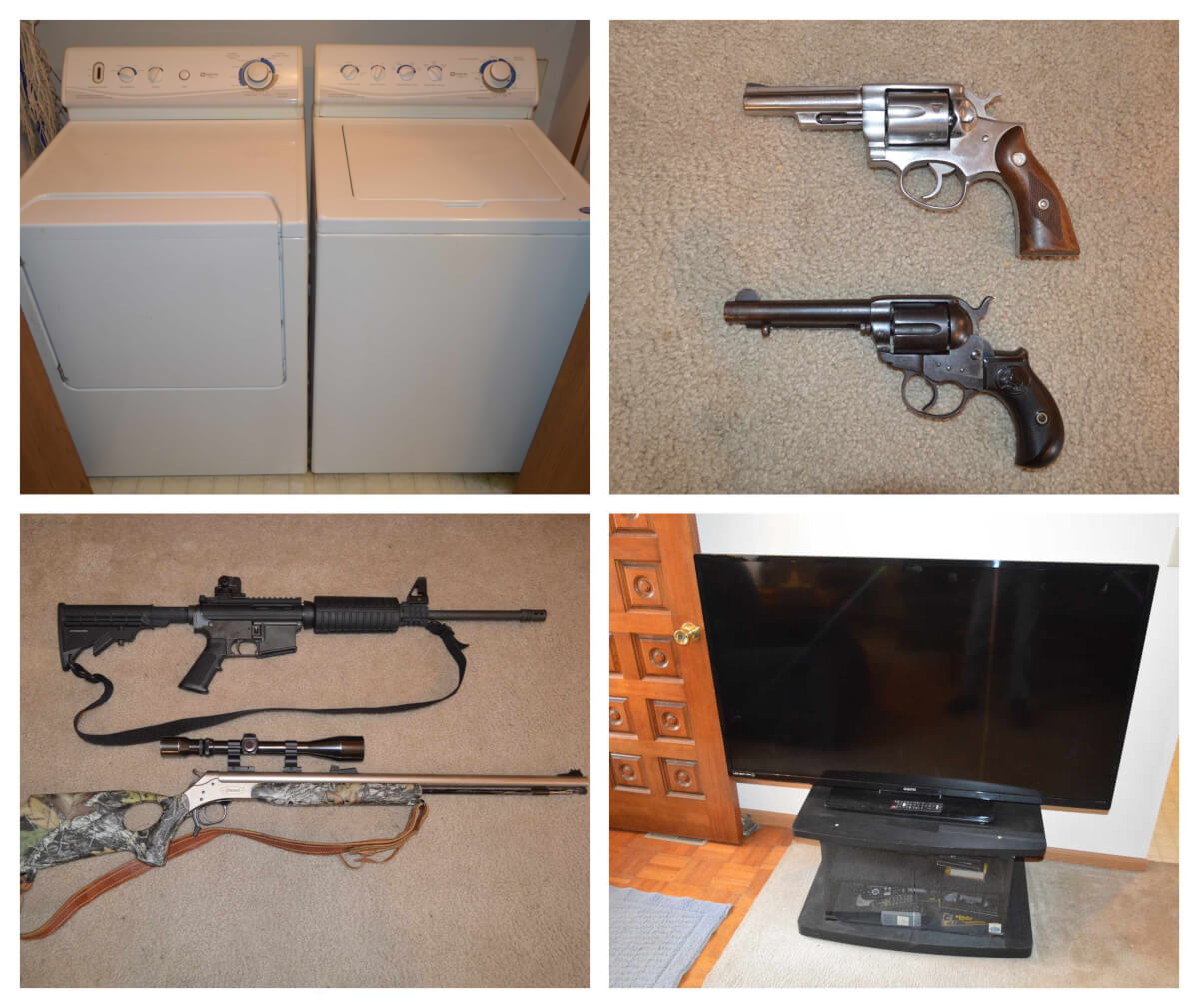 Firearms, Tools, Furniture, Camper, Household Misc Auction in El Dorado