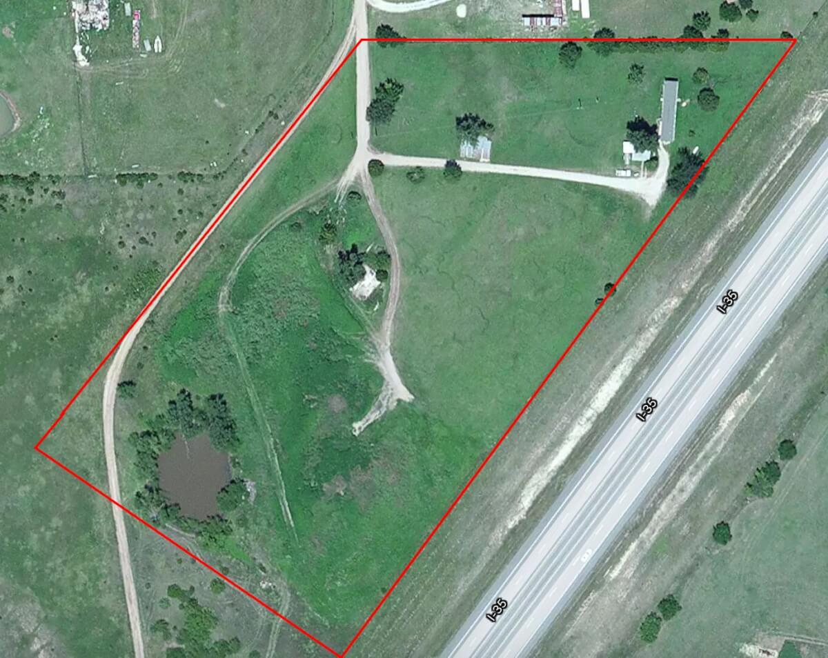 8.3 Acres For Sale West of El Dorado, Kansas