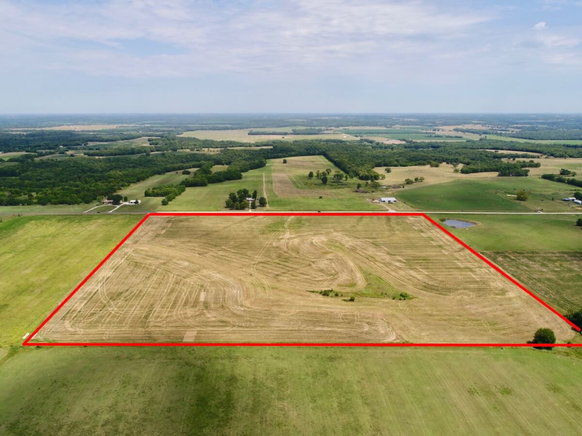 Land Auction – 40 Acres West of Osawatomie, Miami County Kansas