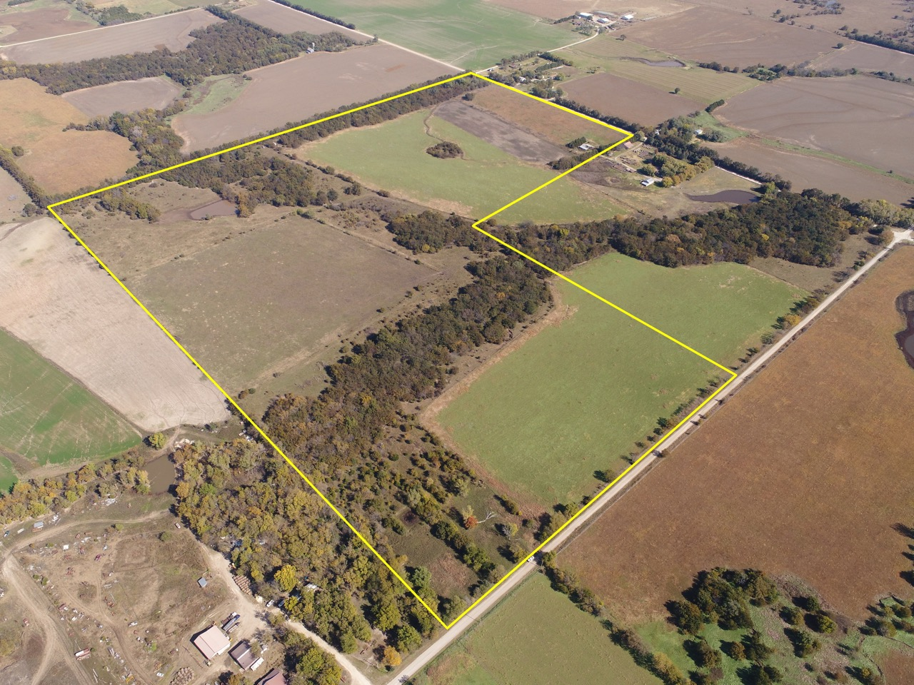 160+- Acres For Sale Near Douglass in Butler County, Kansas