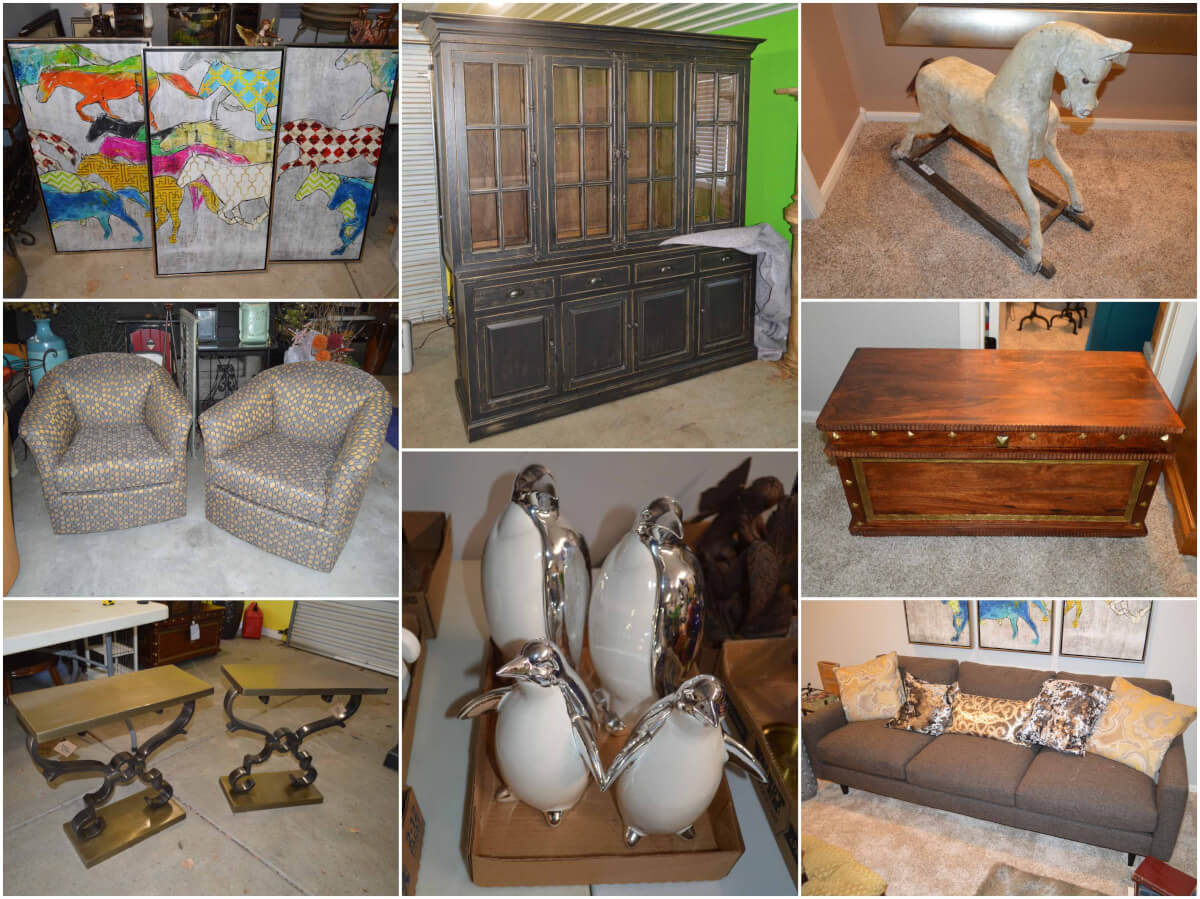 Online Only Auction – High End Furniture, Art, Decor