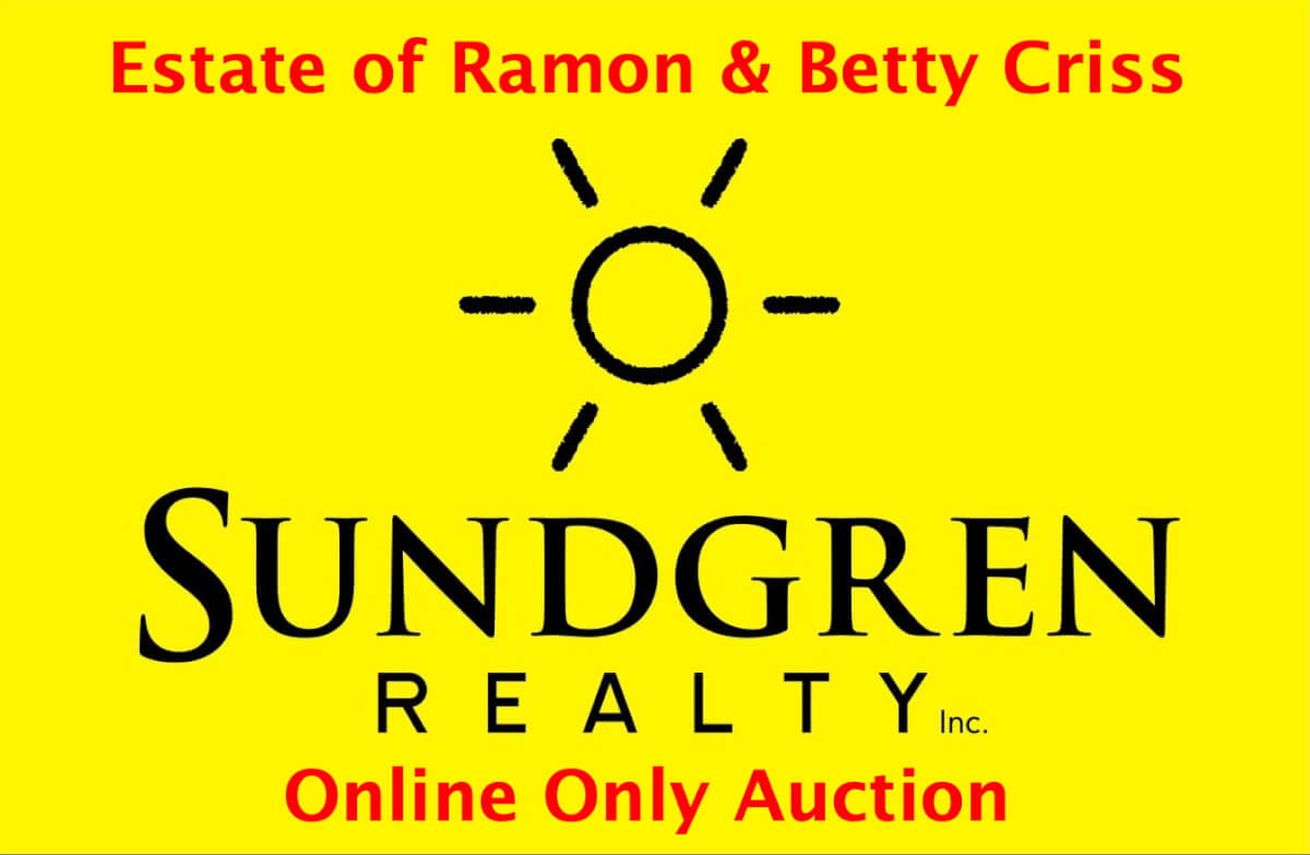 Online Only Auction: Estate of Ramon & Betty Criss * Vehicles, Tools, Household Final Auction