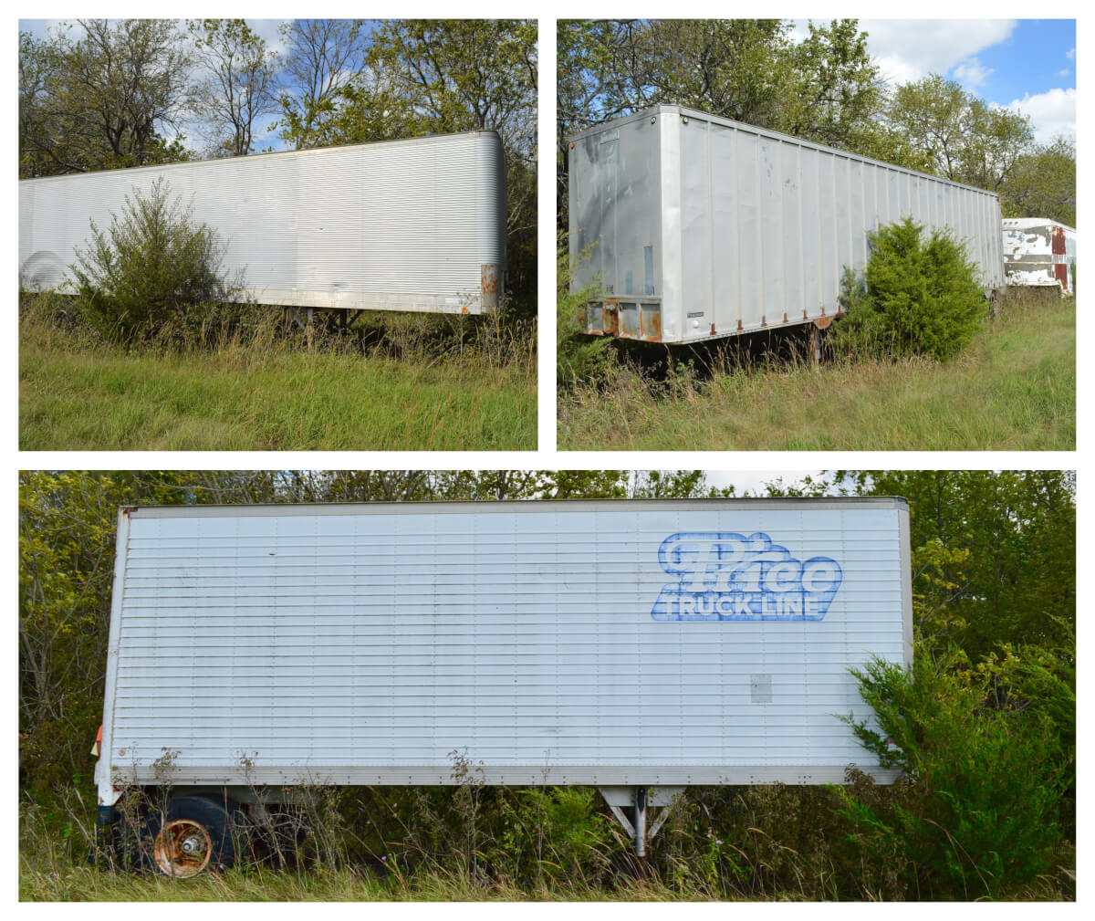 ONLINE ONLY AUCTION: 7 Semi Trailers 28′-40′ Lengths