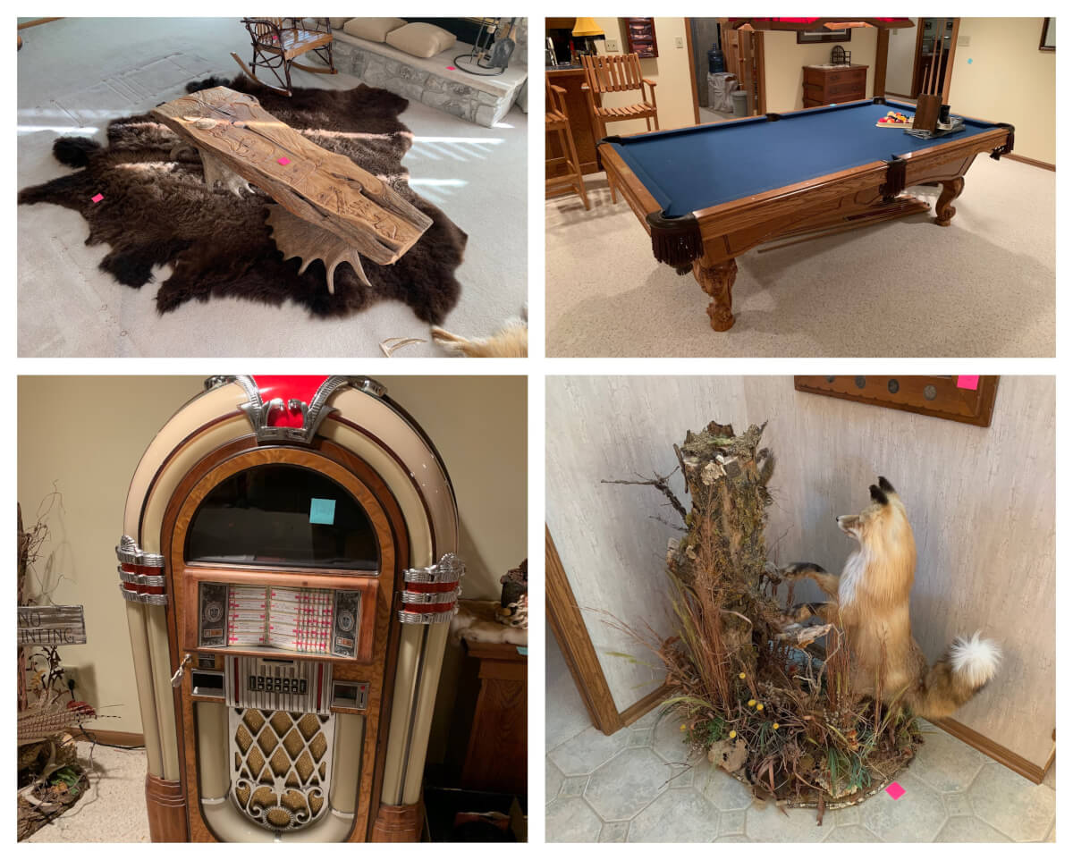 ONLINE ONLY AUCTION: Unique Furniture, Art, Taxidermy, Decor, Home Misc